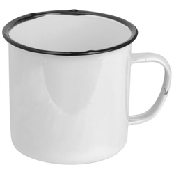 Emaille Tassen