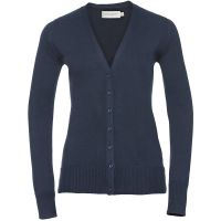 Promo Ladies' V-Neck Knitted Cardigan