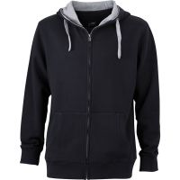 branded Men´s Lifestyle Zip-Hoody